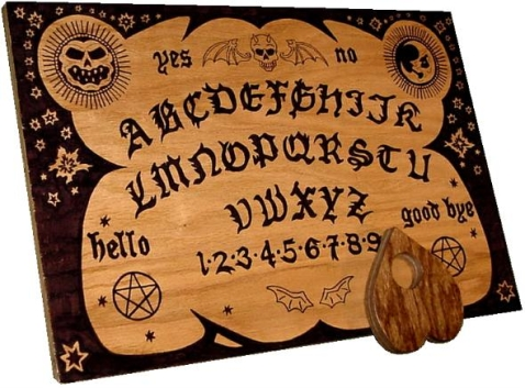 an English Ouija board
